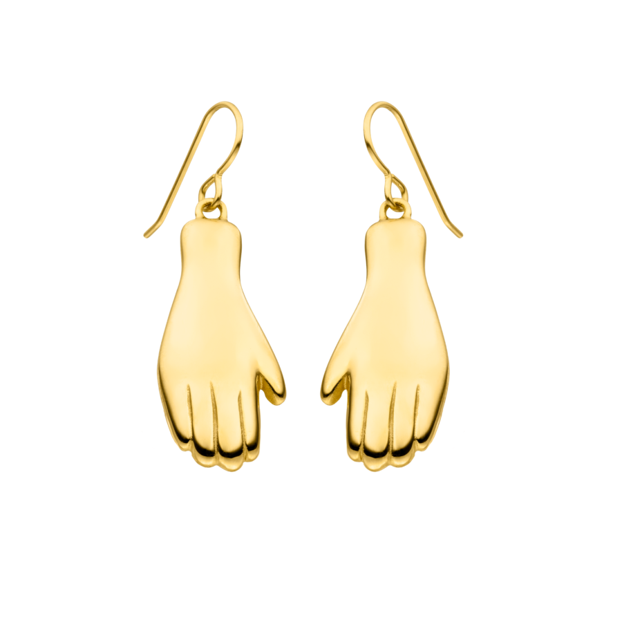 Grab it Earrings Gold