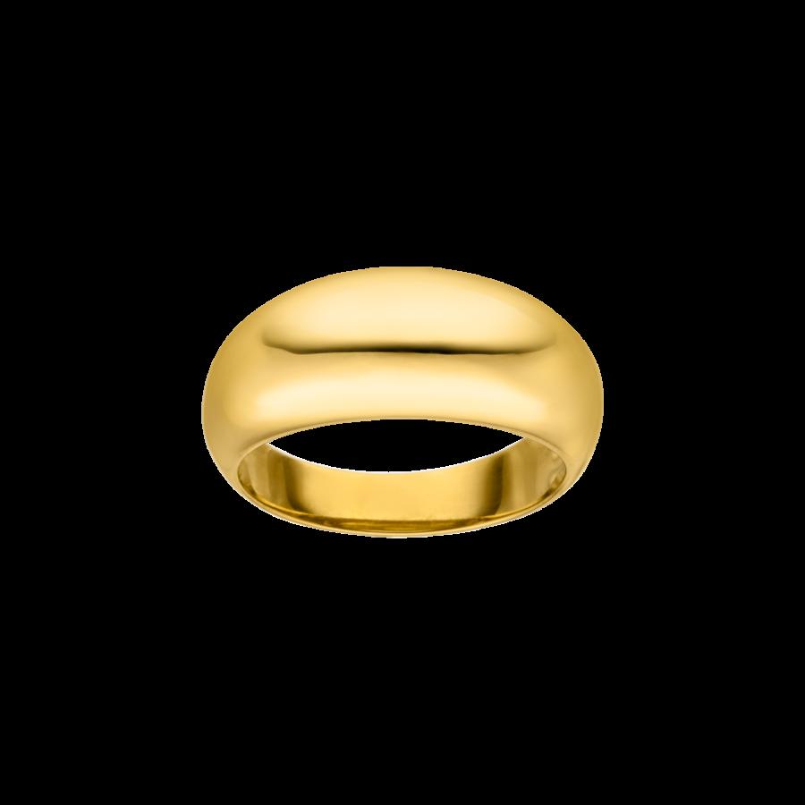 Medium Chunky Ring Gold