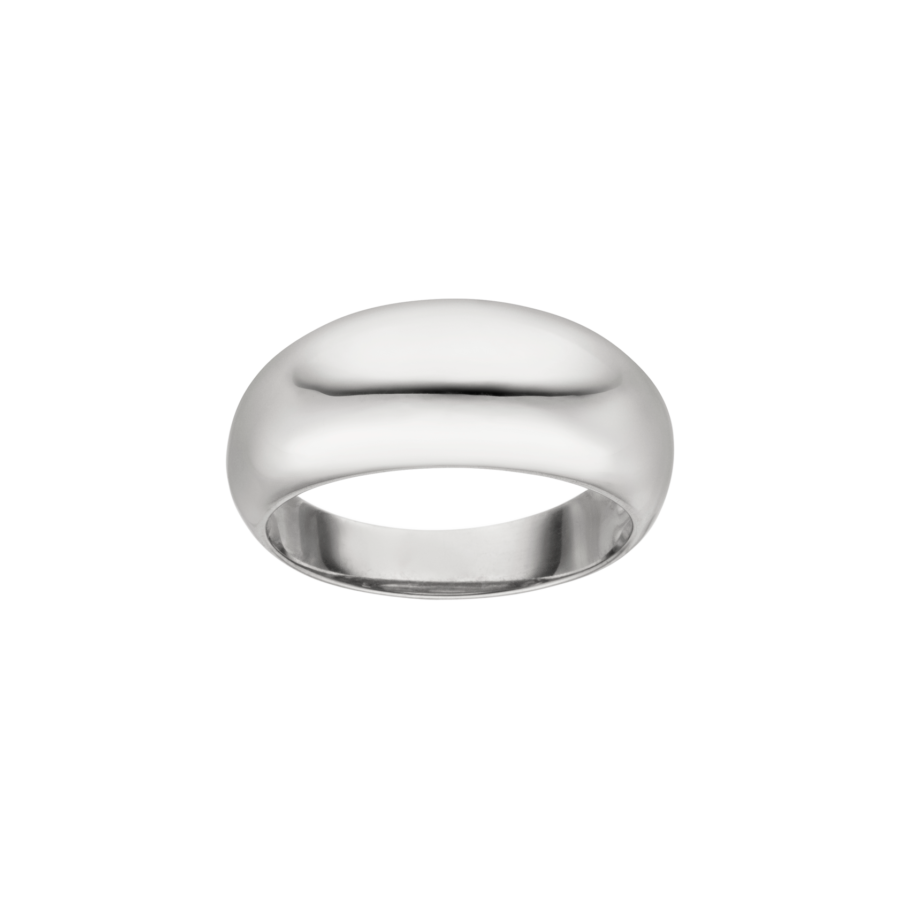 Medium Chunky Ring Silver