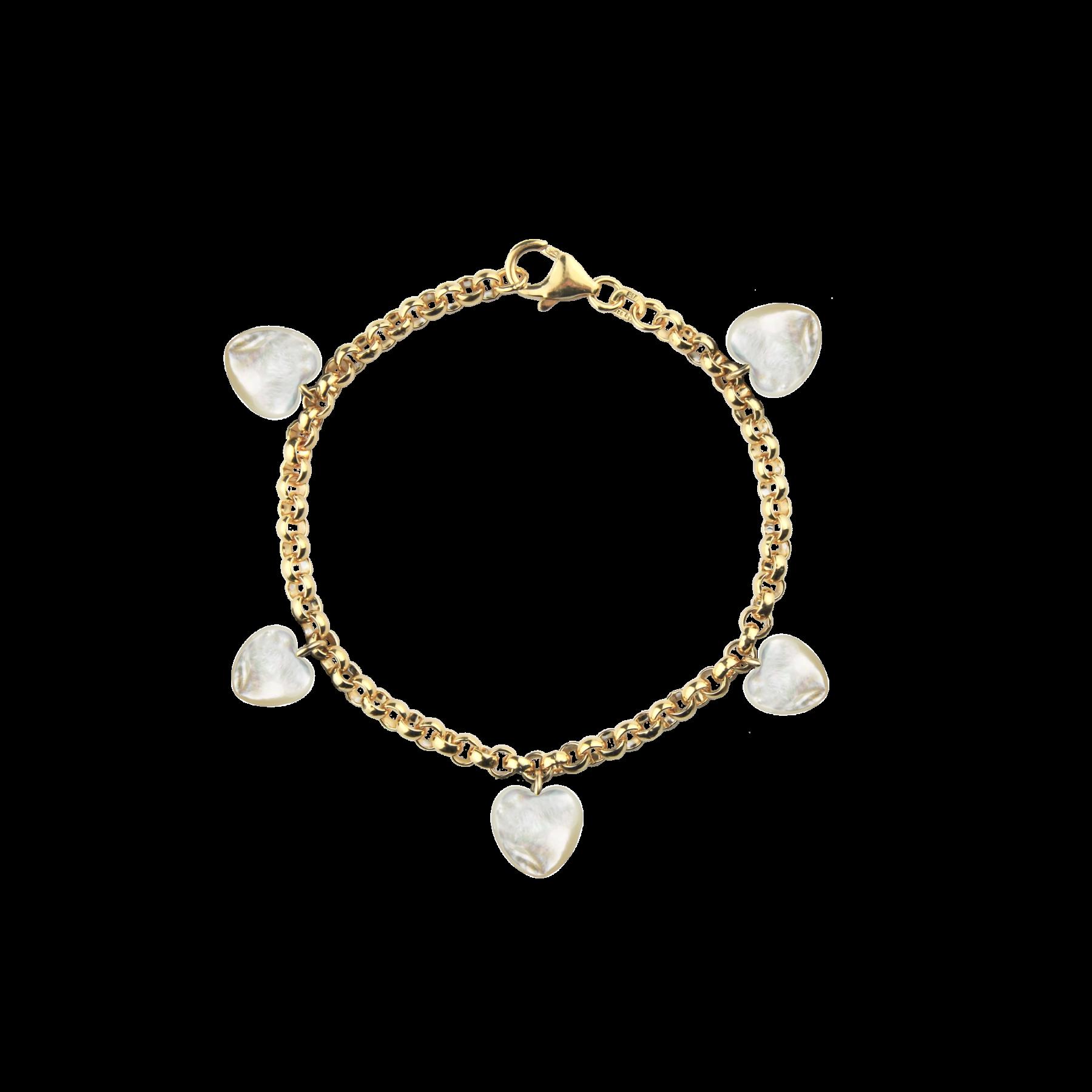 Bracelet---White-Hearts
