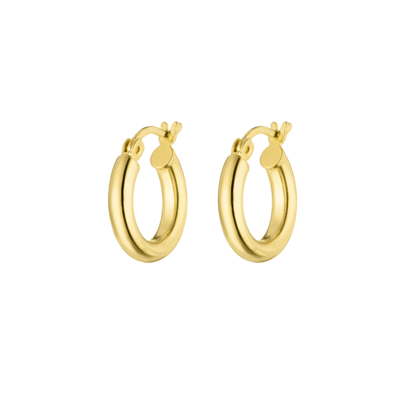 Small Hoops Gold