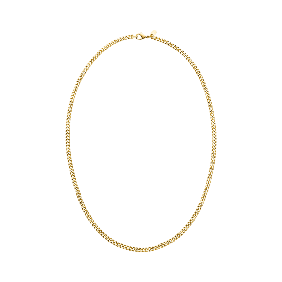 Curb Necklace Gold