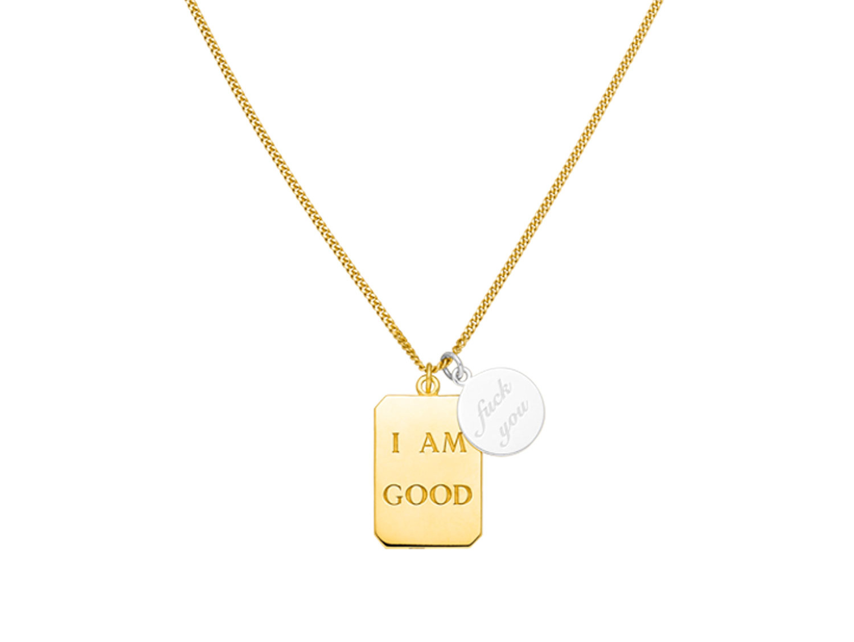 NinaKastens_I-AM-GOOD-fuck-you-Necklace-Gold_CROP_Web